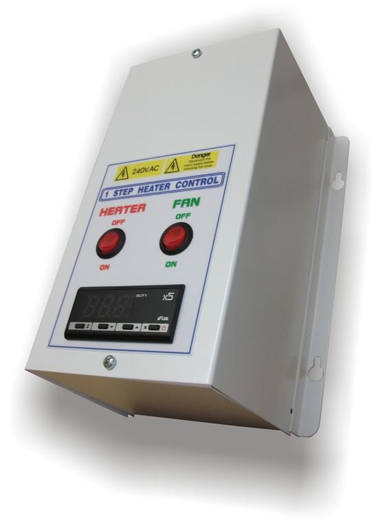 1 Step Heater Control Panel