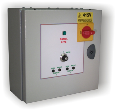 3 Phase Auto Changeover Control