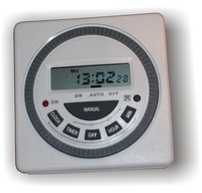 7 Day Time Clock - digital timer